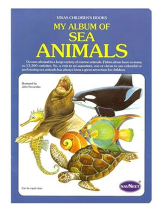 Navneet My Album Of Sea Animals