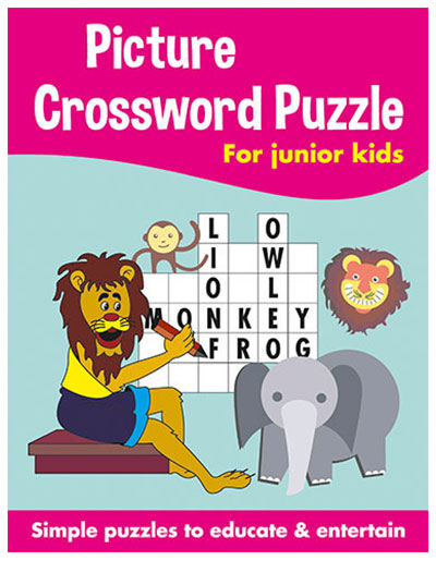 Buy Picture Crossword Puzzles For Kids Pink Online In India ...