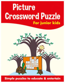 Picture Crossword Puzzles For Kids Yellow