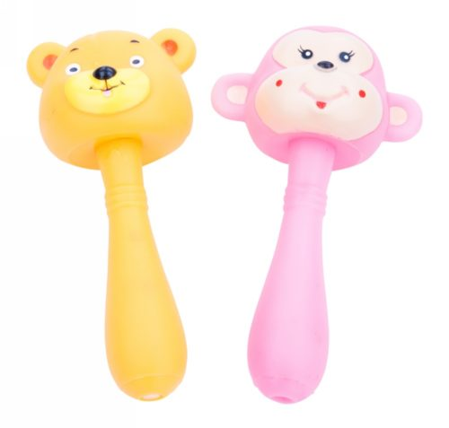 Colourful Squeeze Toys With Handle