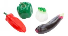 Squeeze Toys Set - Vegetables Red Chilly