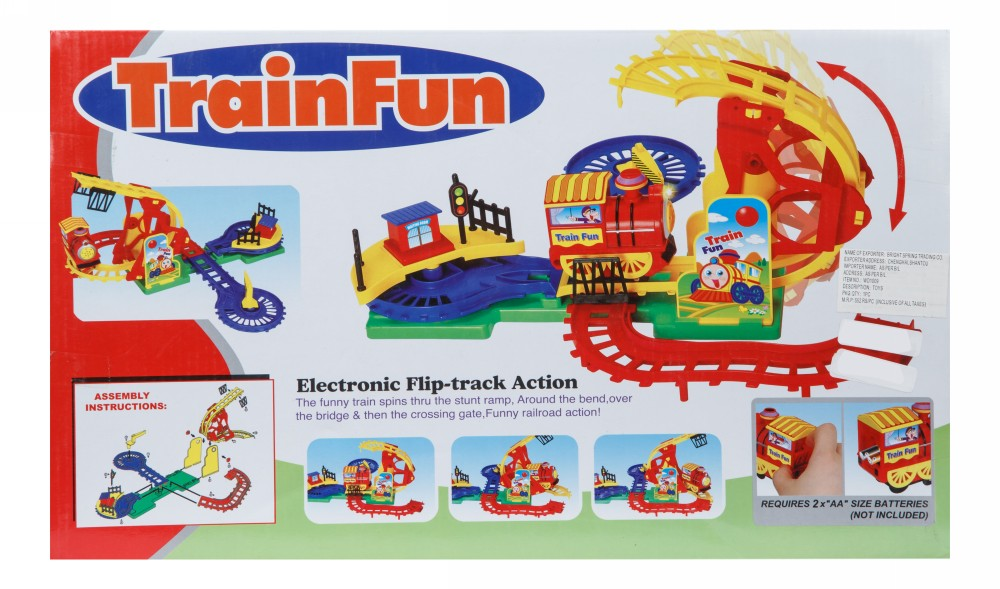 Buy Electronic Train Fun With Lights Amp Music Online In