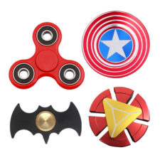 Fidget Spinner Finger Toy (Amazing Designs. Color May Vary)