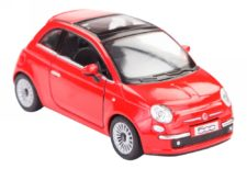 New Fiat 500 Scale Model 1/28 (Red)