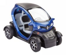 Renault Twizy Scale Model 1/18 (Blue)