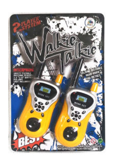 Walkie Talkie 100m - 2 Player Set (Color May Vary)