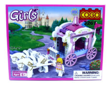Cogo Girls Buggy Blocks Game 3267 (98pcs)