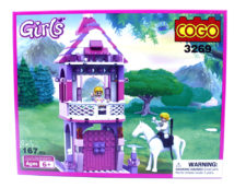 Cogo Girls Blocks Game 3269 (167pcs)