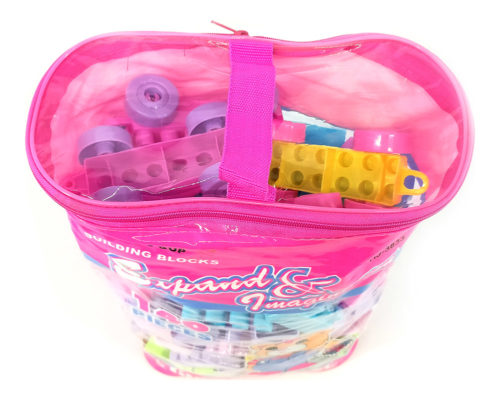 Building Blocks 140 Pcs (With Bag)