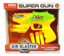 Air Blaster Gun With Soft Bullets (Color May Vary)