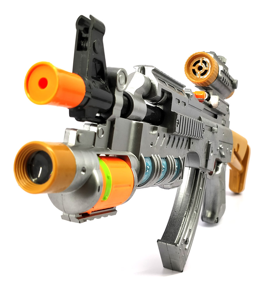 Buy Electric Army Toy Gun With Sound Lights Amp Projector