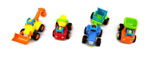 Happy Engineering Vehicles (A Set of 4)