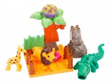 Building Blocks With Animals 79pcs
