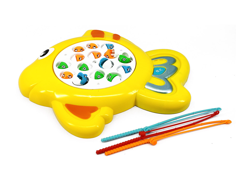 Buy fishing game with 15 fish 3 modes battery operated for Battery operated fish