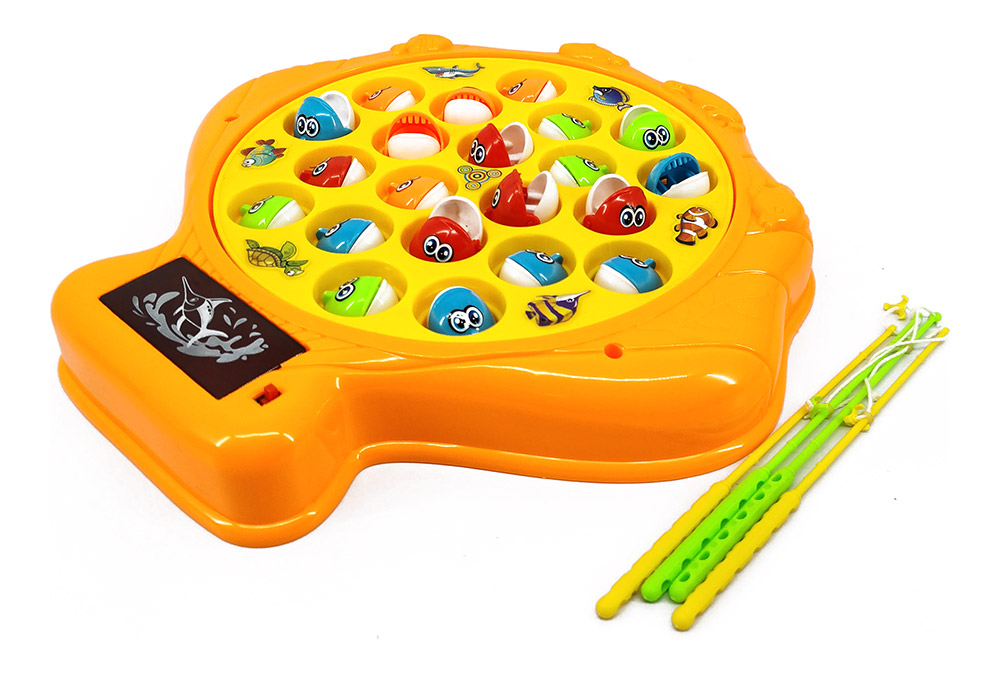 Buy fishing game battery operated 21 fish online in for Battery operated fish