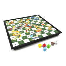 Snakes & Ladders Folding Magnetic Board Game