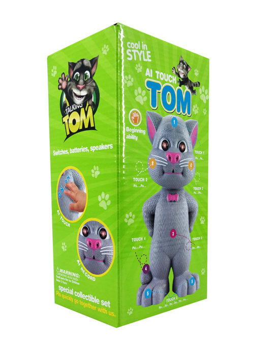 Talking Tom Cat (22cm) Battery Operated Toy