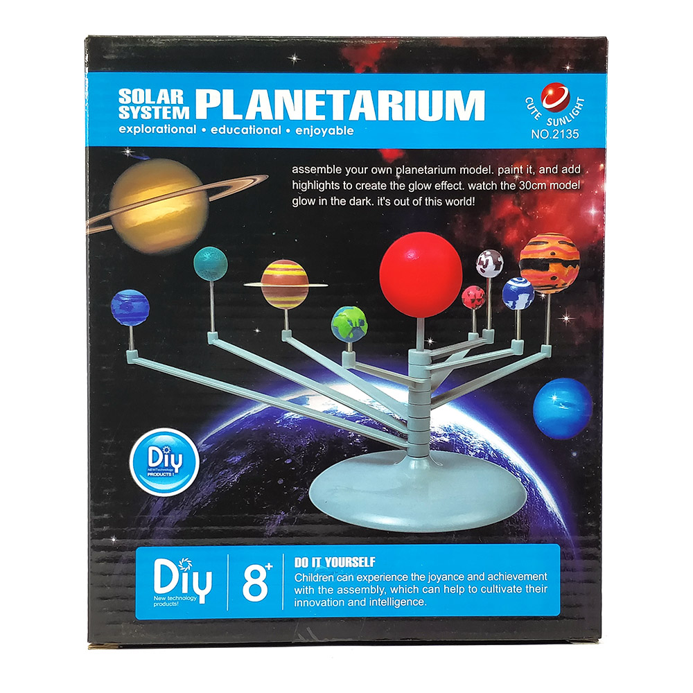 Buy solar system planetarium for kids diy kit online in india solar system planetarium for kids diy kit solutioingenieria Choice Image
