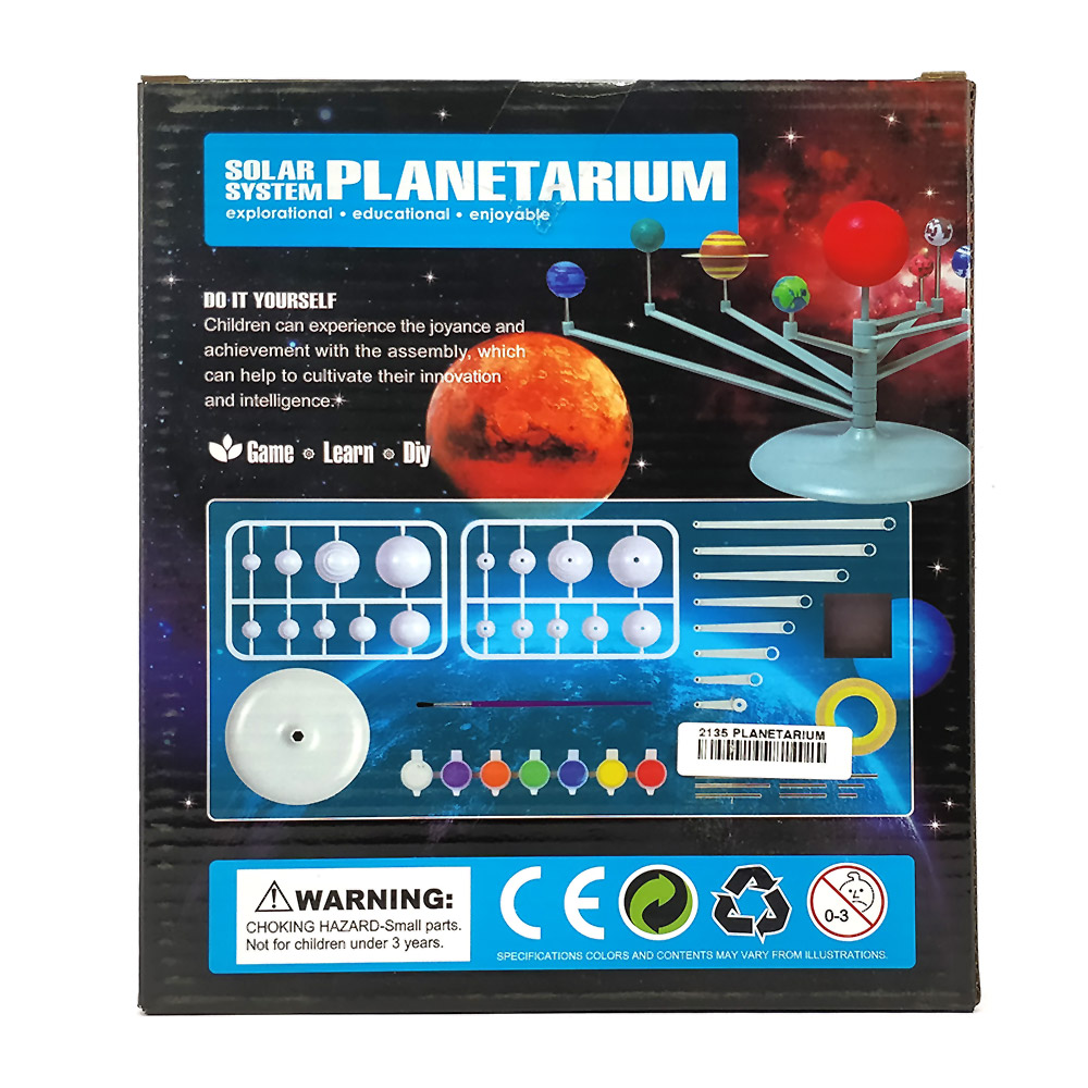 Buy solar system planetarium for kids diy kit online in india solar system planetarium for kids diy kit solutioingenieria Image collections