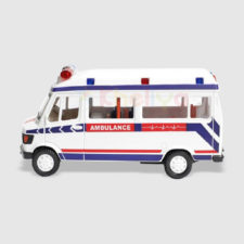 Centy Ambulance Pullback Scale Model