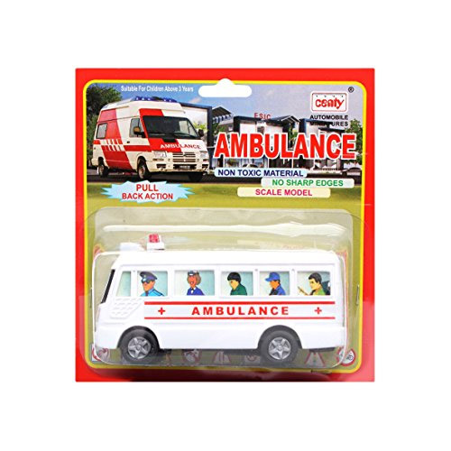 Centy Mini Bus Ambulance Pullback