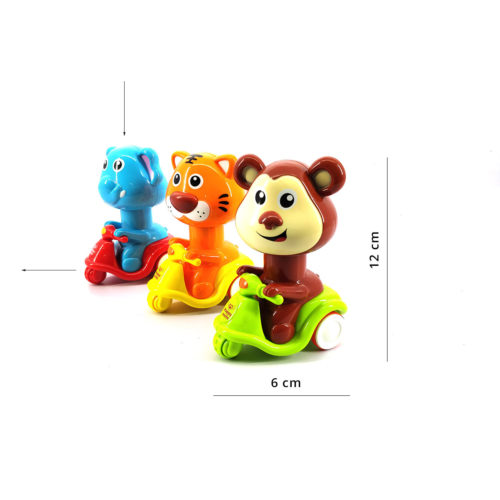 Moto Animal Press & Move Scooter (Assorted)
