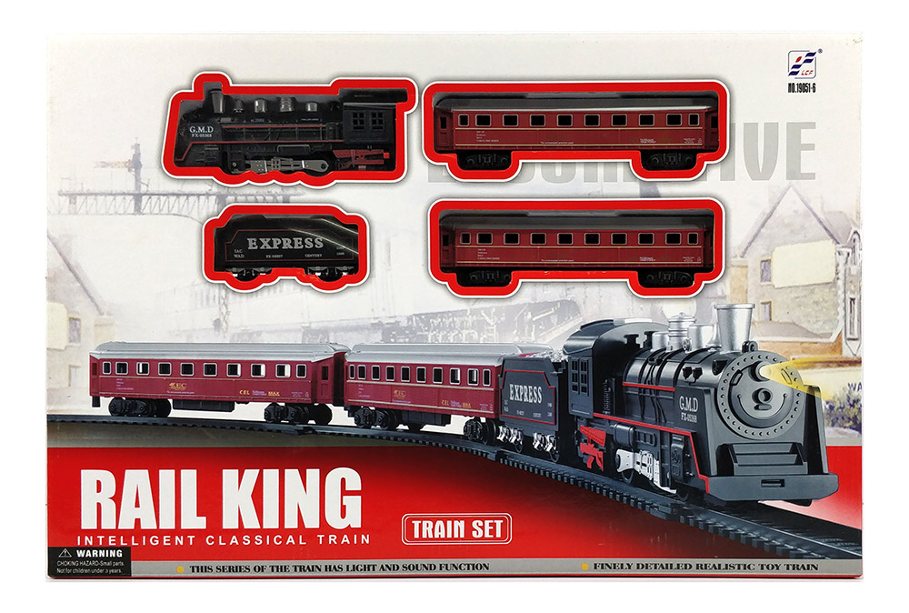 Other Toys - Small size RAIL KING Classical Train Toy Set ...