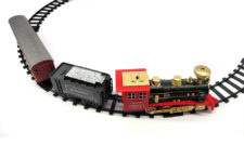 Rail King Intelligent Classic Passenger Train With Smoke