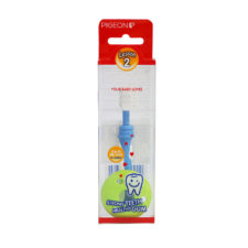 Pigeon Baby Training Toothbrush L2 Blue P-11785
