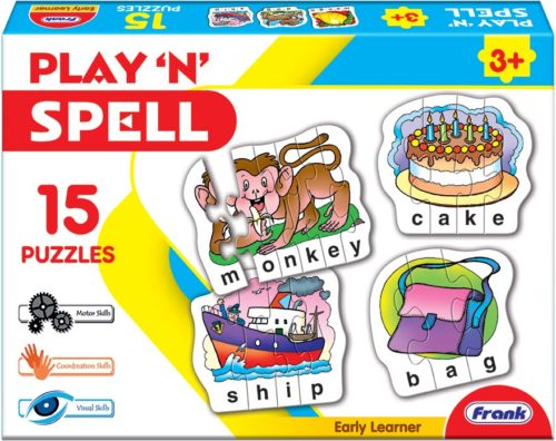 Play 'n' Spell 15 Puzzles Set