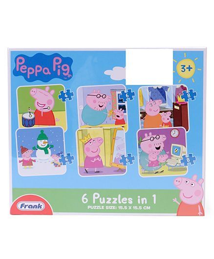 Peppa Pig 6-in-1 Puzzles
