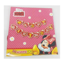 Minnie Happy Birthda Party Bunting Banner