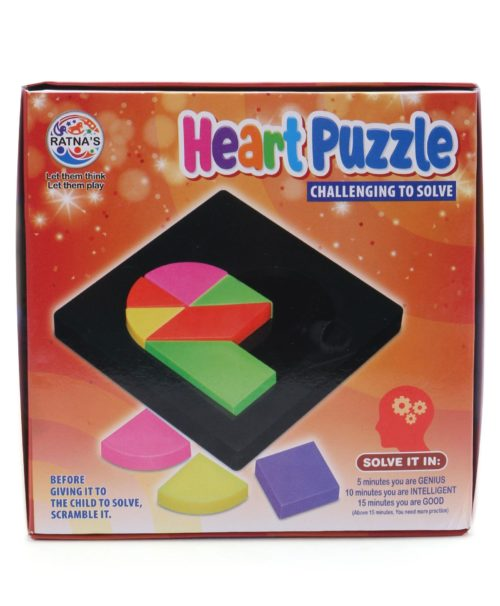 Heart Puzzle Game