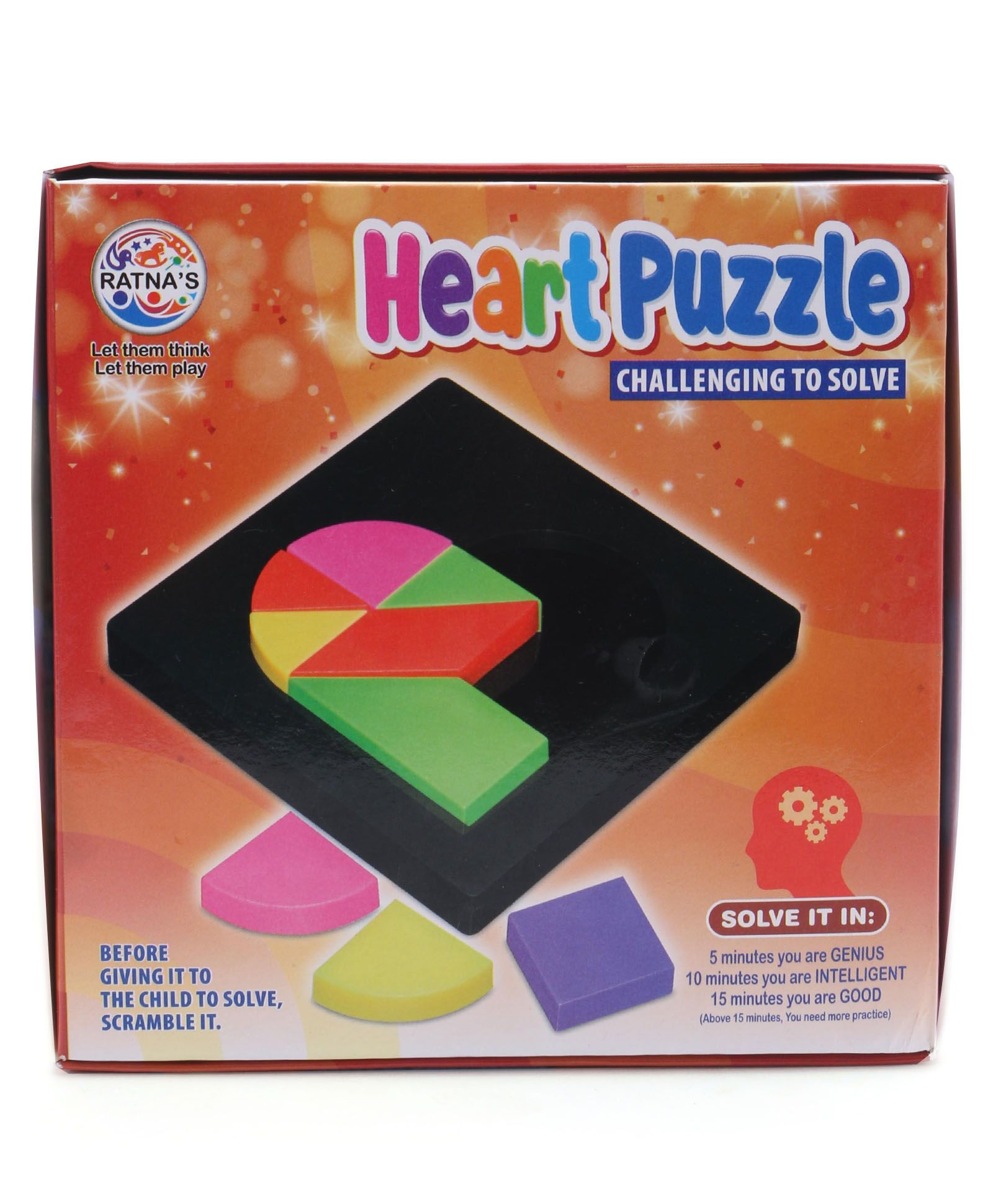 Buy Heart Puzzle Game Online In India Kheliya Toys