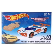 Paint Your Wooden Car DIY Kit