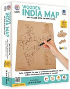 Wooden India Map Puzzle