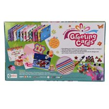 Greeting Card Making Kit -  Make & Greet 12 Card Inside