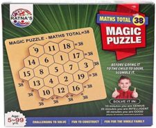 Maths Total  38 Magic Puzzle