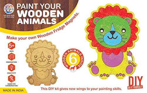 Paint Your Wooden Animals