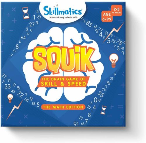 Skillmatics Squik Brain Game Math Edition