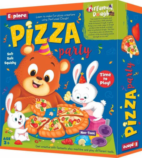 Mini Pizza Party with Perfumed Dough