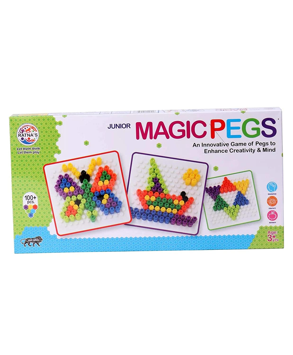 Magic Pegs Junior Game