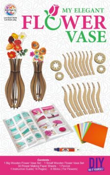 My Elegant Flower Vase DIY Kit