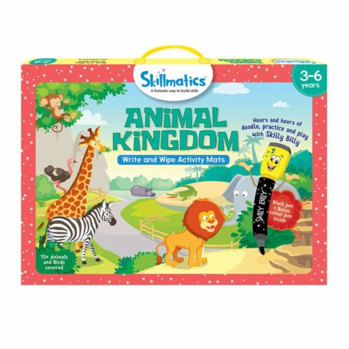 Skillmatics Animal Kingdom Activity Mats