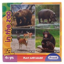 Animals in The Zoo Puzzle