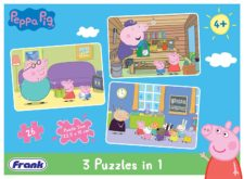 Peppa Pig 3-in-1 Puzzles 26 Pcs.