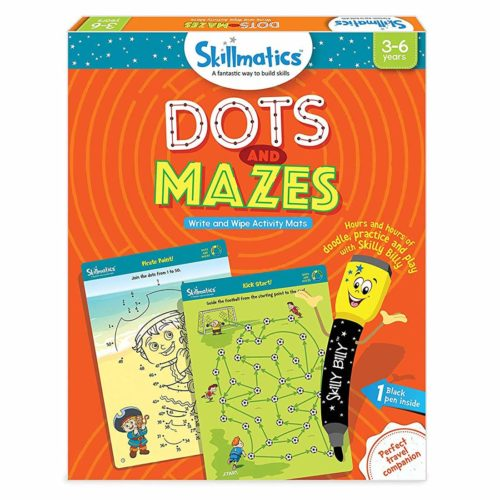 Skillmatics Dots And Mazes Activity Mats
