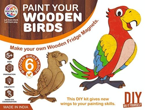 Paint Your Wooden Birds