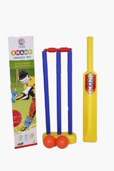 Champ Cricket Bat Ball Stumps Pvc Set