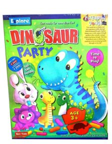Dinosaur Party with Perfumed Dough